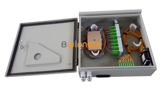 BWINNERS SJ-ODB-M14 Wall Mounted Outdoor FTTH Splitter Fiber Distribution Cabinet 48 Cores