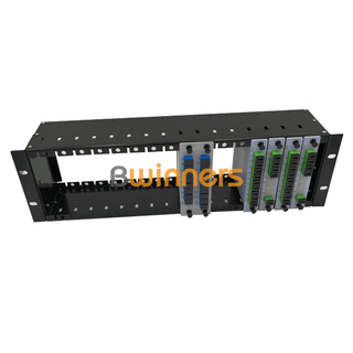 BWINNERS BWN-PLC-RM 19 inch 1U rack mount Insertion Type PLC splitter, with SC/APC connector