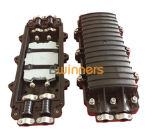 GJS-24-S Horizontal Type Fiber Optic Splice Closure with 2 Inlets/outlets