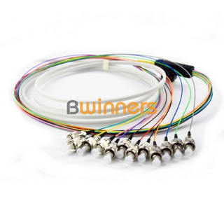 BWINNERS 12 Core FCUPC Ribbon Optic Cable Pigtail/ Patchcord Jumper Cable Pigtail