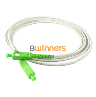 BWINNERS SC/APC- SC/APC Simplex SM G657A2 2.0MM Fiber Optic Patch Cord / Patchcord Jumper Cable Pigtail