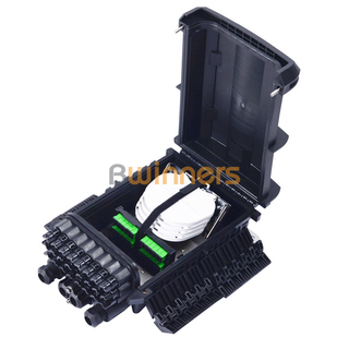 24 Ports 96 Fibers Fiber Optic Splice Closure Joint Box Distribution Box