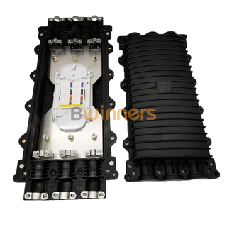 GJS-24-D-B Extra Large Fiber Optic Splice Closures with 3 Inlets/outlets Up To 288 Cores Capacity