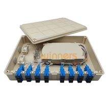 BWINNERS SJ-OTB-ST-07-A Wall Mount Fiber Optic Terminal Box SC 24 Cores