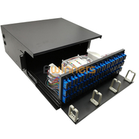 BWN-ODF-144-A 144 Fibers 4U ODF Rack Mounted Optical Distribution Frame
